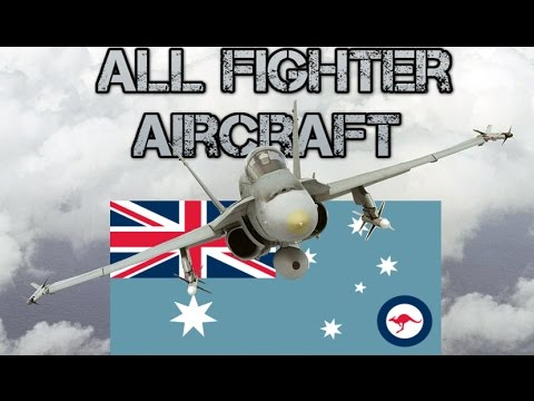 All current RAAF Fighter aircraft