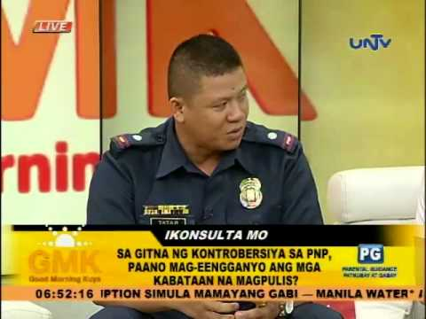 How to become a police officer for the Philippine National Police