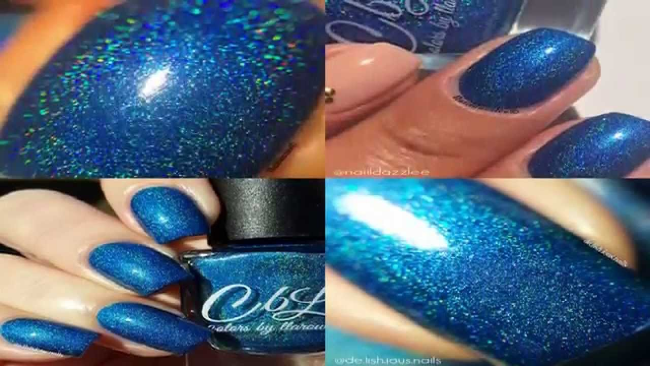 Colors by llarowe Polish of the Month - Dec 2015 Blue, Blue ...