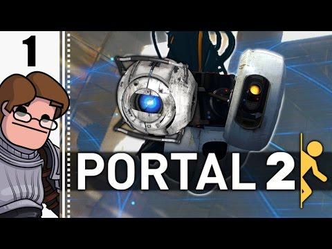 Let's Play Portal 2 Part 1 (Patreon Chosen Game)