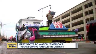 Best spots to watch 'America's Thanksgiving Parade' in Detroit