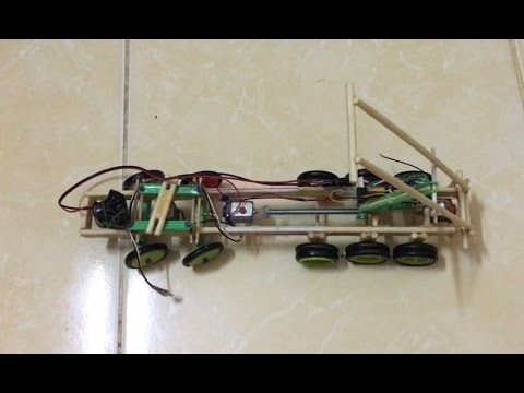 RC Heavy Truck RC Construction Truck Making at home