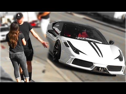 Je te donne ma Ferrari pour ta copine! expérience sociale 2018