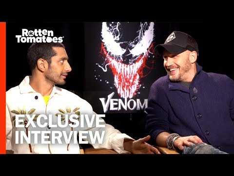 Tom Hardy Says the Dark Side Drew Him to 'Venom' | Full Interview | Rotten Tomatoes