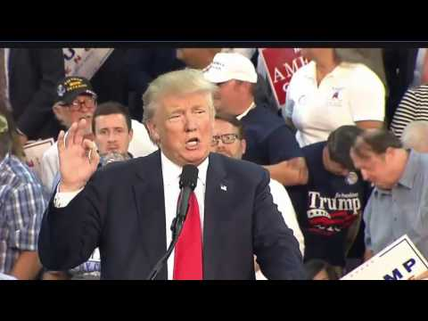Donald Trump In Erie PA FULL Speech 8/12/16