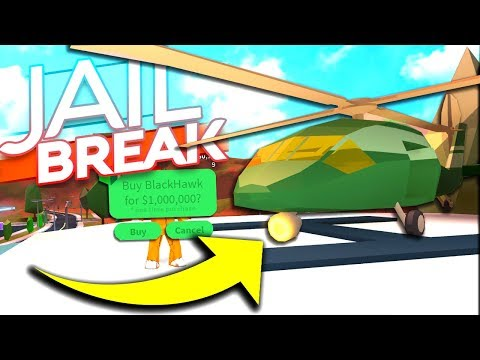 BUYING THE NEW ARMY HELICOPTER IN JAILBREAK *$1,000,000*
