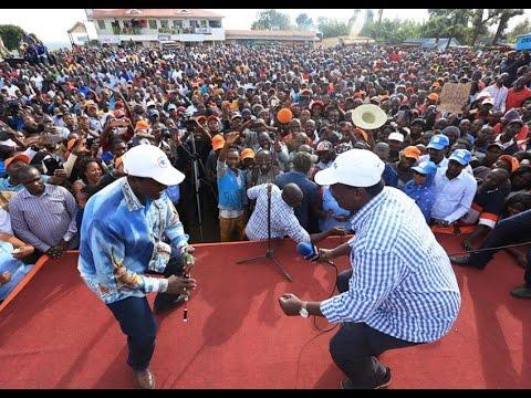 NASA NAIROBI RALLY: Kalonzo Musyoka