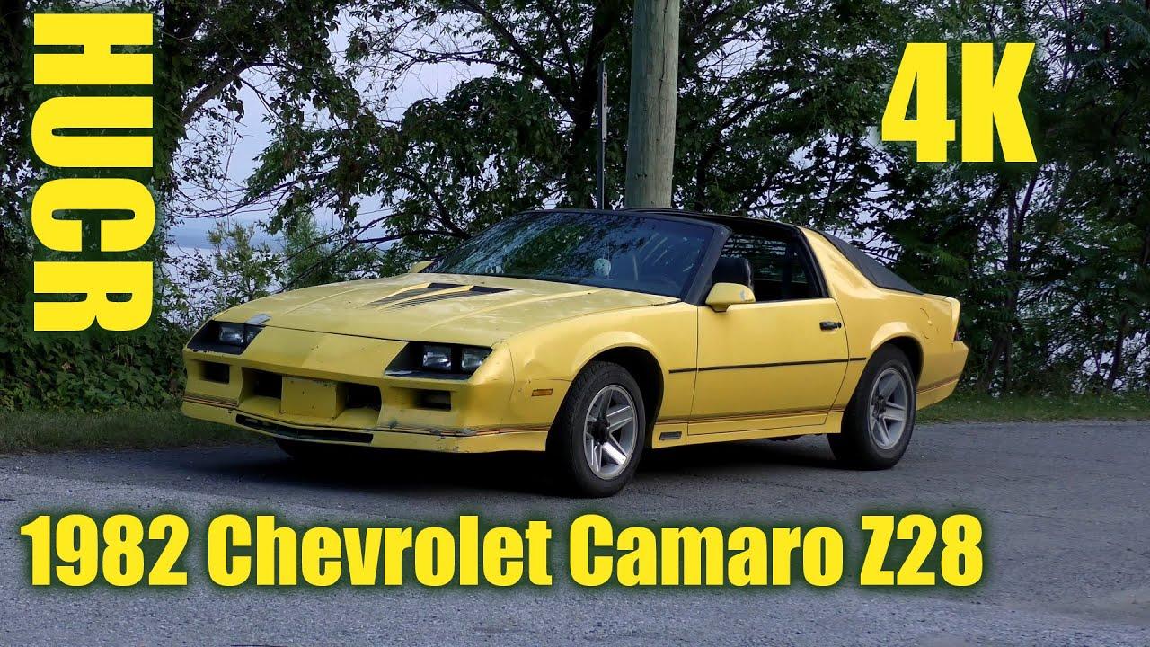 1982 Chevrolet Camaro Z28  HUCR  YouTube