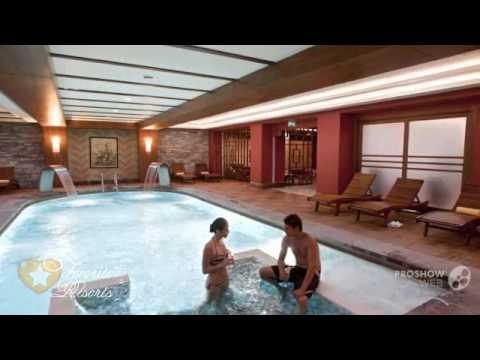 Crystal de luxe resort and spa turkey kemer youtube for Lux salon and spa