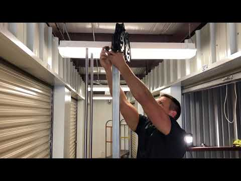 Wall Mounted Dual Cable Station Assembly Cs Wm Youtube