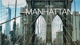 4k iPhone7 plus Short Film   DJI Osmo Mobile - Filmic Pro   Across Manhattan