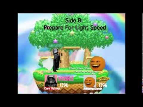 Smash Bros Lawl Moveset- Dark Helmet