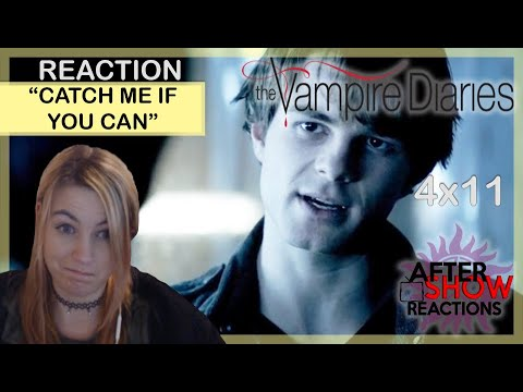 The Vampire Diaries S04E11 - Catch Me If You Can Reaction Part 1