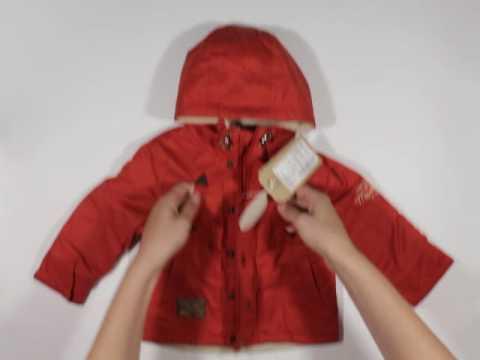 Детская весенняя куртка для мальчика КТ 127 Бемби