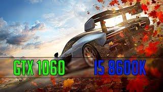 Forza Horizon 4 - GTX 1060 |  Test Ultra | Laymer