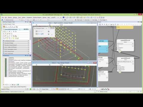 AECOsim Building Designer - QuickStart for GenerativeComponents and BIM – Creating a Space Model: