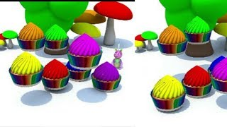 Learn Colours With 3d Baby | Kids Colours