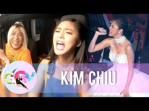 """GGV: Kim sings a few lines of """"Flashlight"""""""