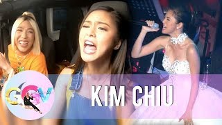 "GGV: Kim sings a few lines of ""Flashlight"""