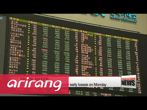 Asian shares manage to recover early losses on Monday