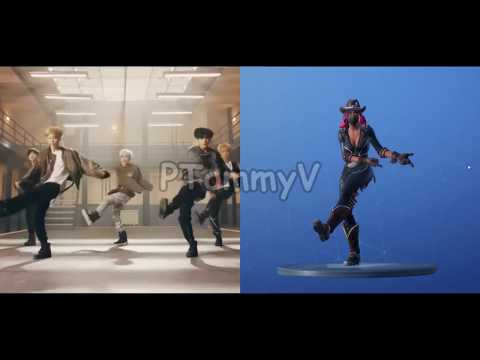 Fortnite Recently Added A Bts Dance Emote Kpop