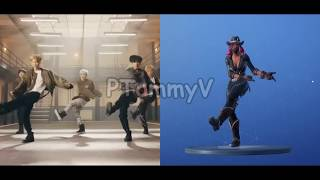 Fortnite Battle Royale: Smooth Moves Dance in Real Life [BTS MOVES]