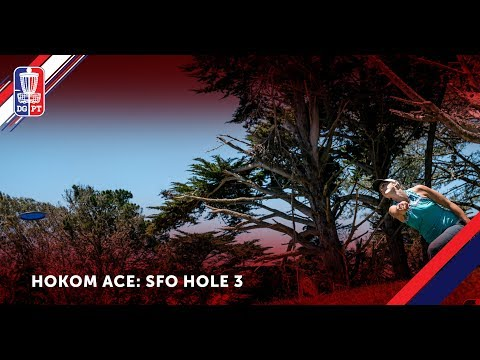 ACE: Sarah Hokom ace at the San Francisco Open
