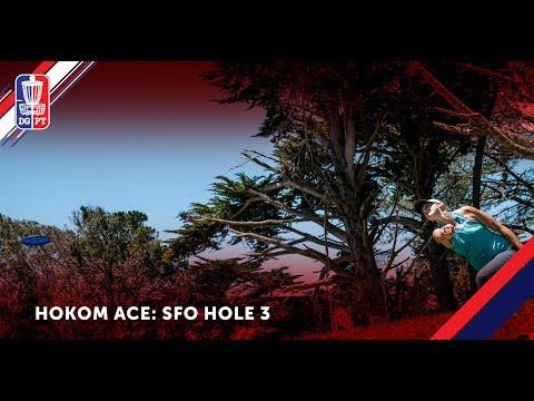 ACE: Sarah Hokom ace on Hole 3 at the San Francisco Open
