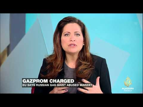 Russian gas giant Gazprom charged by European Union