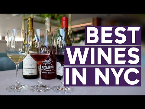 Uncork the best wines in NYC according to Wine Spectator