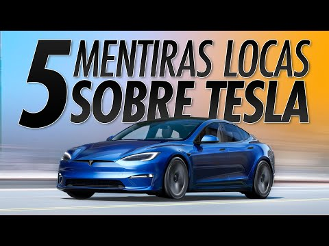 5 MENTIRAS descabelladas sobre TESLA y los coches eléctricos