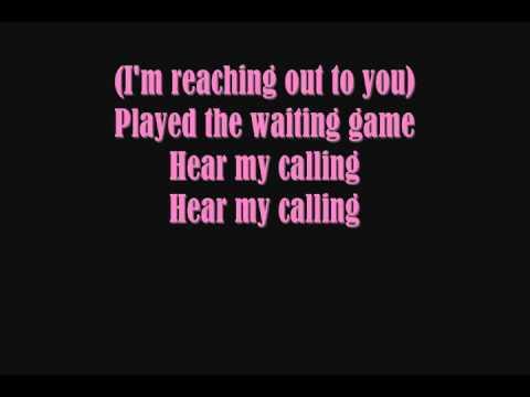 Geri Halliwell - Calling (Lyrics)