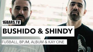 Bushido & Shindy über Fußball, die BPJM, das Album & Kay One (16BARS.TV)