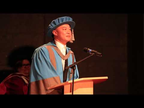 Cantopop star Eason Chan receives honorary degree from Kingston University