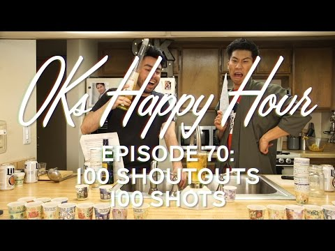 OKs Happy Hour Ep.70: 100 shoutouts 100 shots