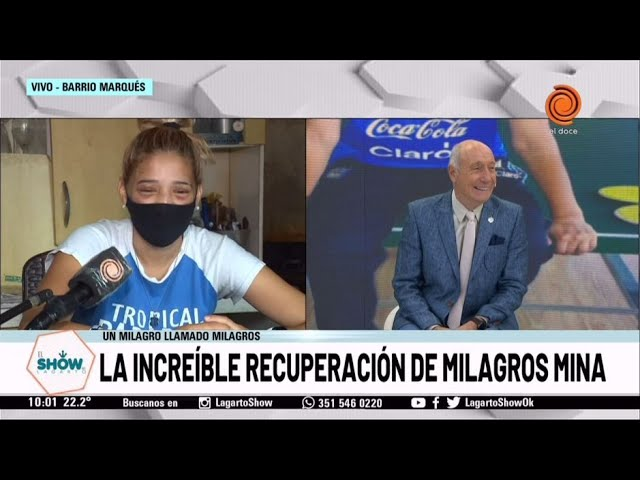 La increíble recuperación de Milagros Mina