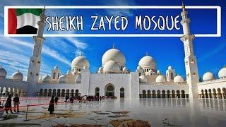 Мечеть шейха Зайда в Абу-Даби | Sheikh Zayed Grand Mosque Center