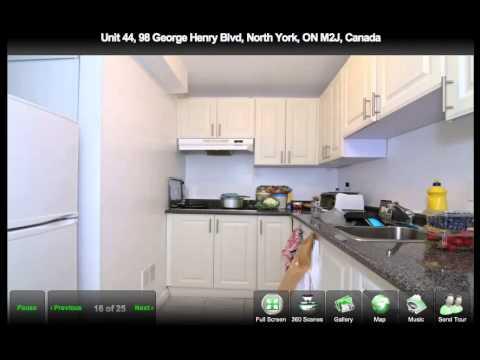 Unit 44, 98 George Henry Blvd, North York, ON M2J, Canada