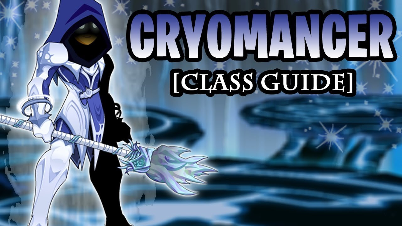 AQW - Cryomancer Class Guide (POWERFUL Nukes & HoT!)