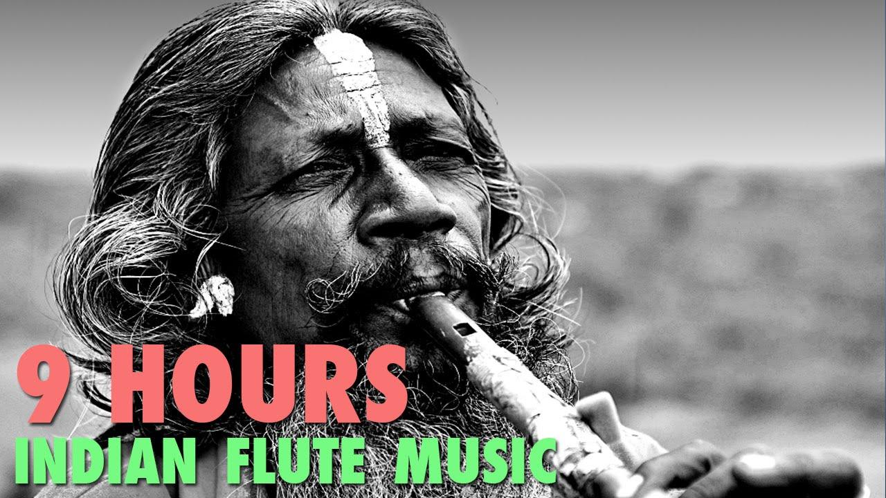 Indian Flute Music : Meditation Yoga Background Relaxing Calming Sleep Spa  Instrumental Music