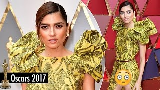 Blanca Blanco Suffers MAJOR Wardrobe Malfunction on the 2017 Oscars Red Carpet