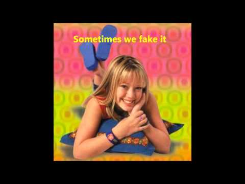 Lizzie Mcguire Theme Song (Lyrics)