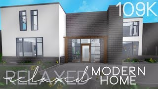 ROBLOX | Welcome to Bloxburg: Relaxed Modern Home 109k
