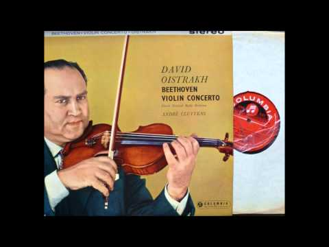 Beethoven Violin Concerto , 2,3 Mov, David Oistrakh, Violin
