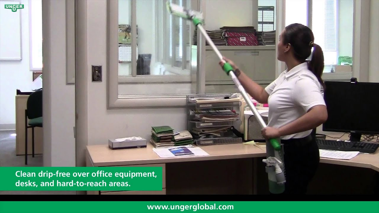 Indoor Window Cleaning Kit Ck05g Product Video Unger