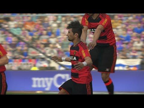 Bahia x Sport Recife - Brasileirão Série A 2017 - 29/07/2017 - PES 17 - MODO ESTRELA