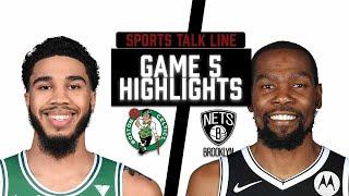Celtics Vs Nets HIGHLIGHTS Full Game | NBA Playoffs Game 5