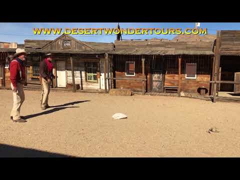 Desert Wonder Tours - Gunfighter Reenactments