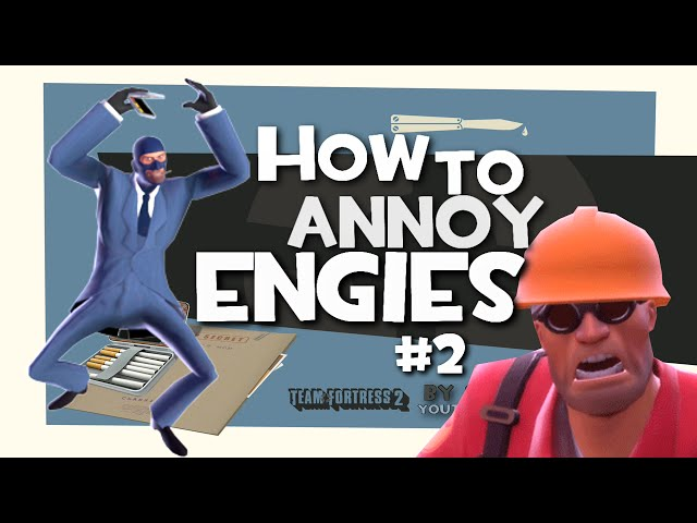 TF2: How to annoy engies #2 [F2P/FUN]