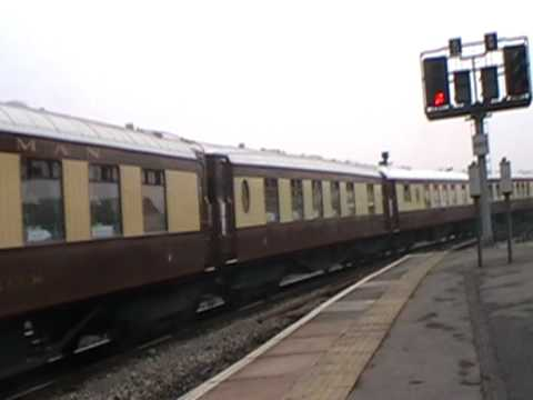 EWS 67 with Pullman coaches Bristol Temple Meads-15th April